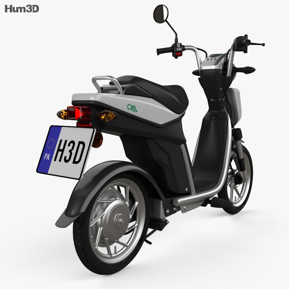 Yamaha EC-03 2013 3d model