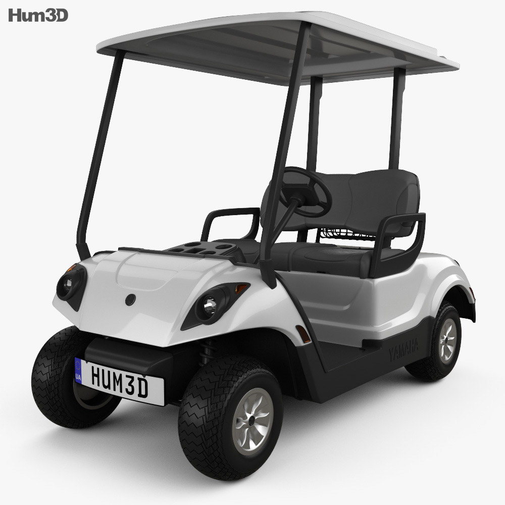 Yamaha Golf Car Fleet 2012 3d model