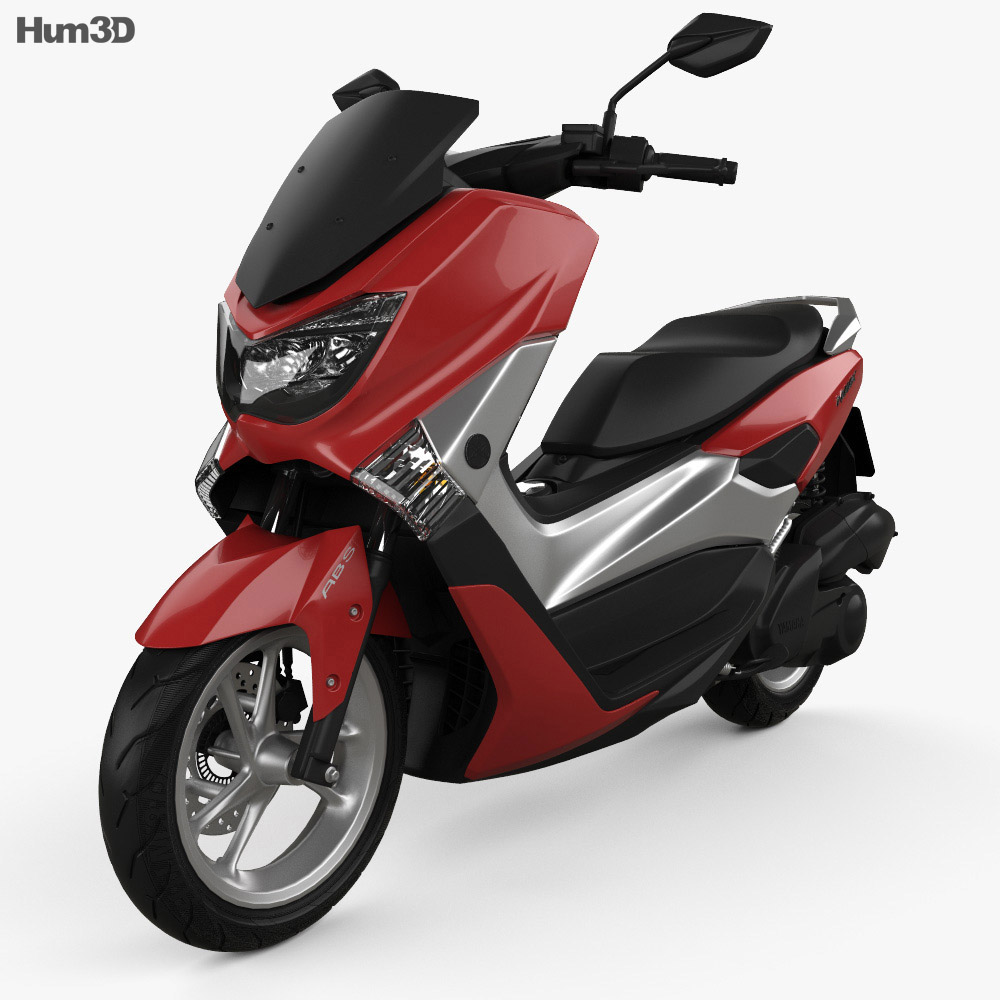 Yamaha NMAX 160 ABS 2017 3d model