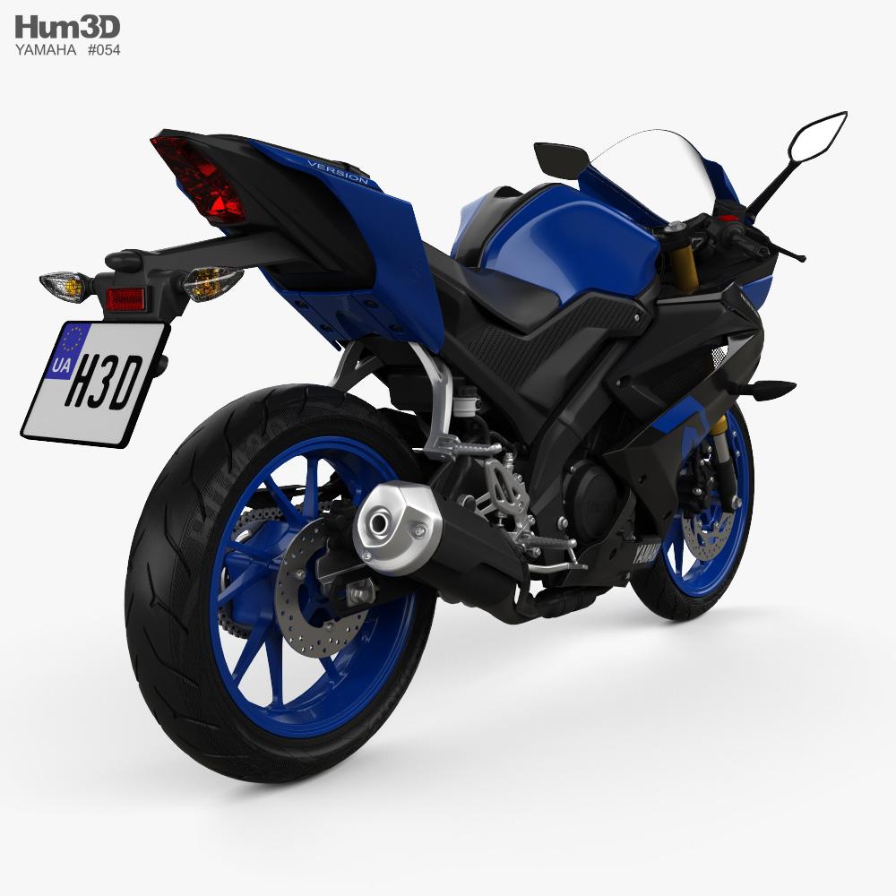 Yamaha R15 2020 3d model