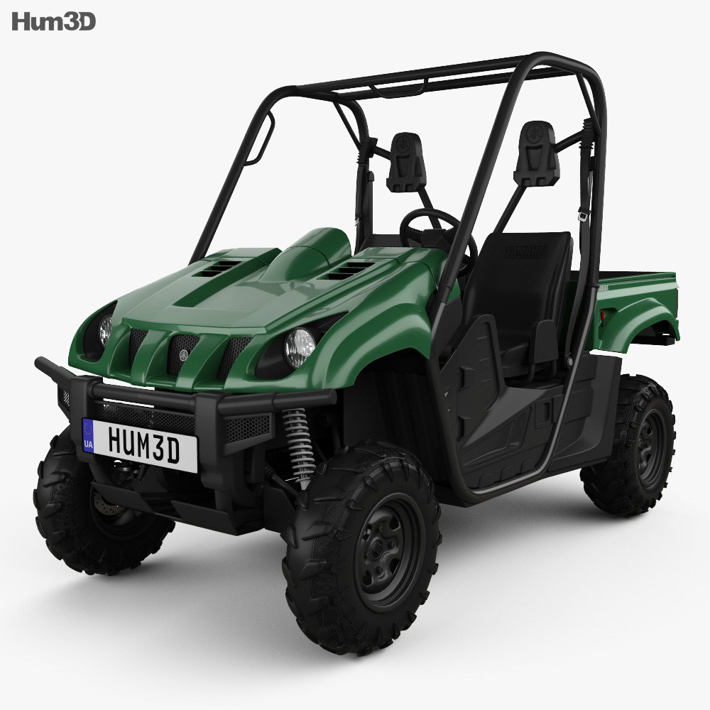 Yamaha Rhino 700 2013 3d Model Vehicles On Hum3d