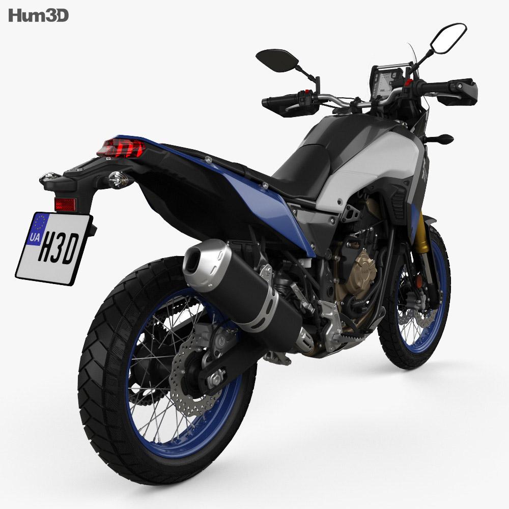 Yamaha Tenere 700 2021 3d model