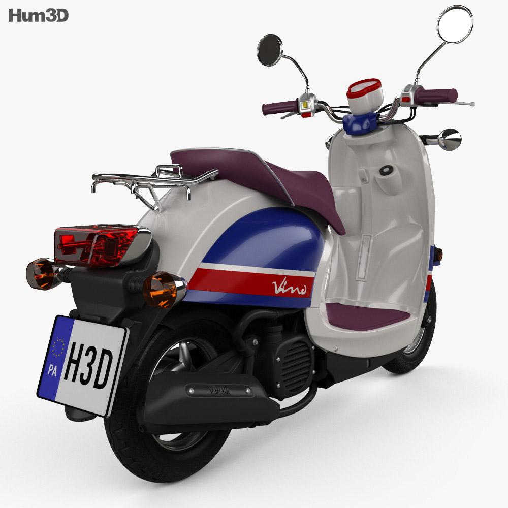 Yamaha Vino Classic 2013 3d model