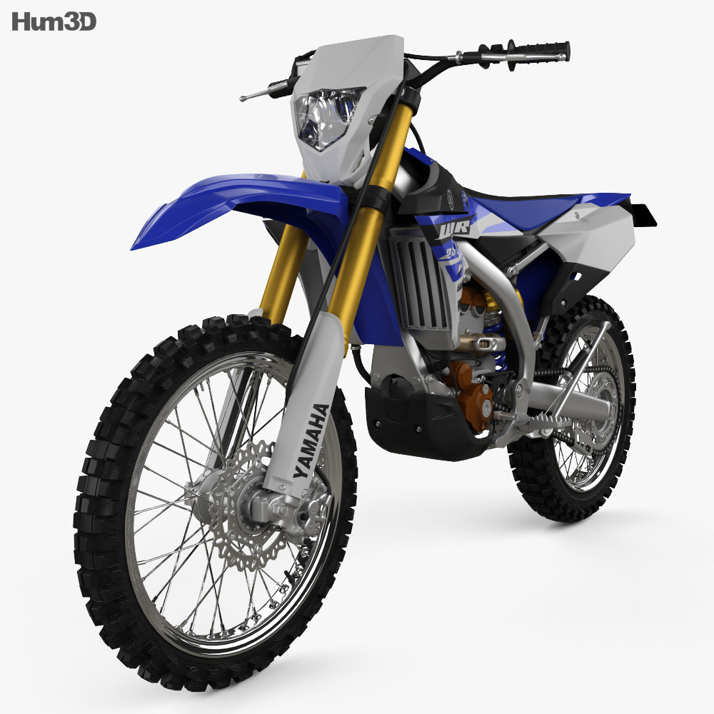 Yamaha WR250F 2015 3d model