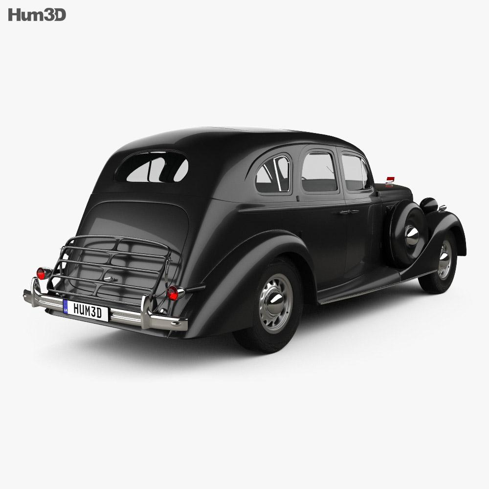 ZIS 101A 1939 3d model
