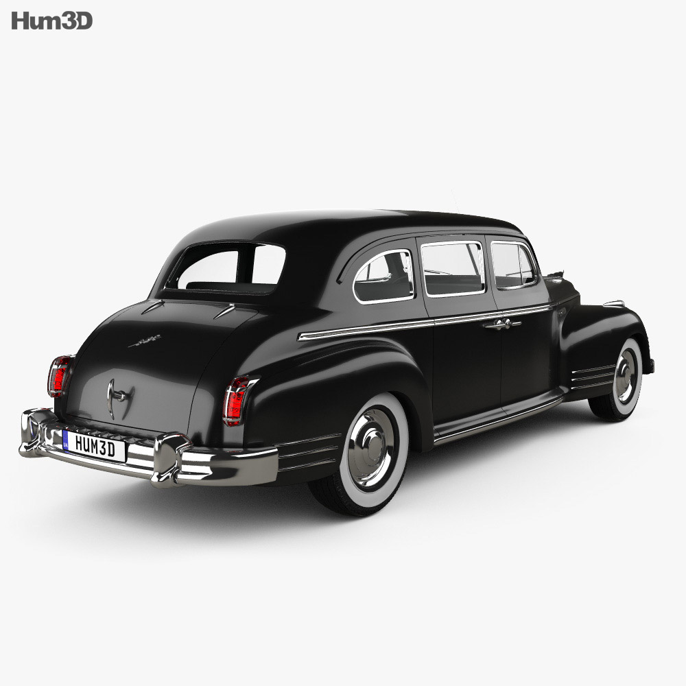 ZIS 115 1946 3d model