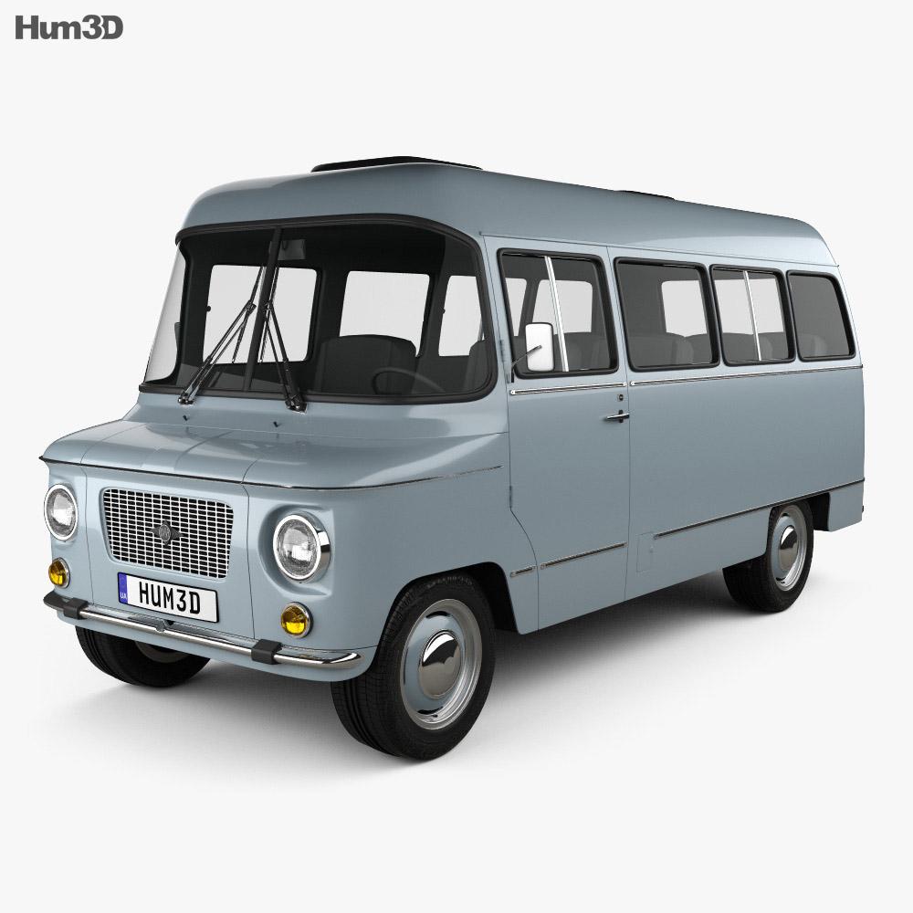 ZSD Nysa M522 1976 3d model