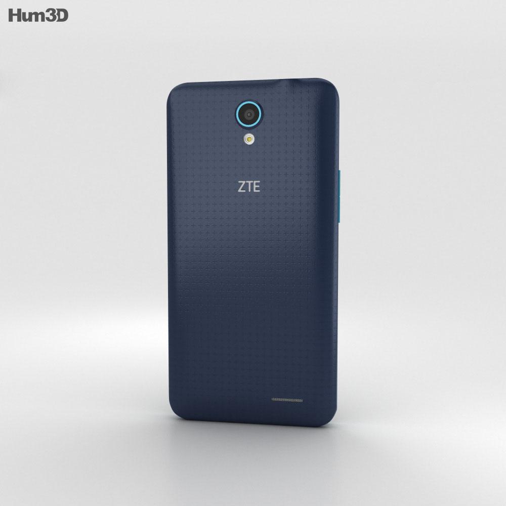 ZTE Avid Plus Black 3d model