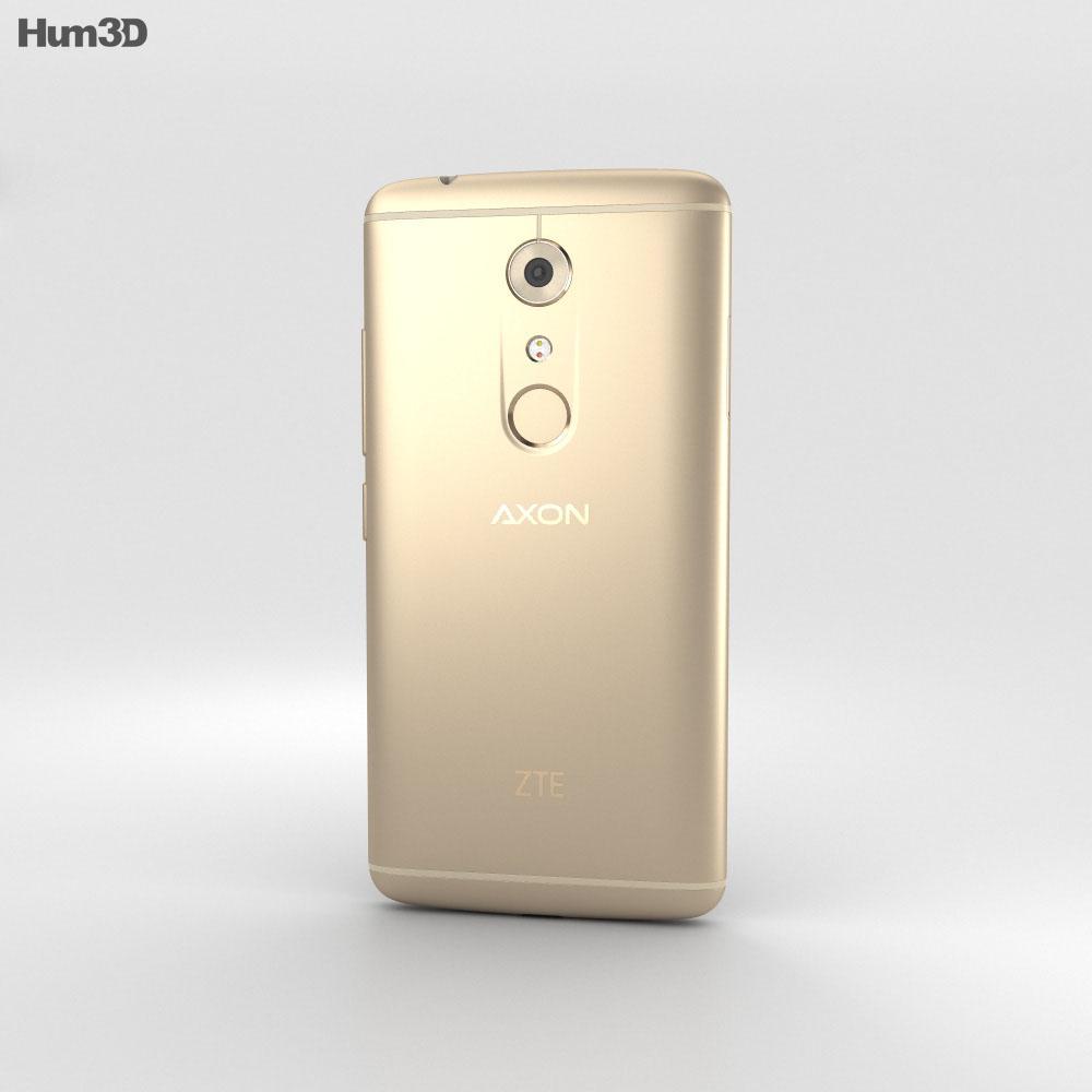 ZTE Axon 7 Ion Gold 3d model