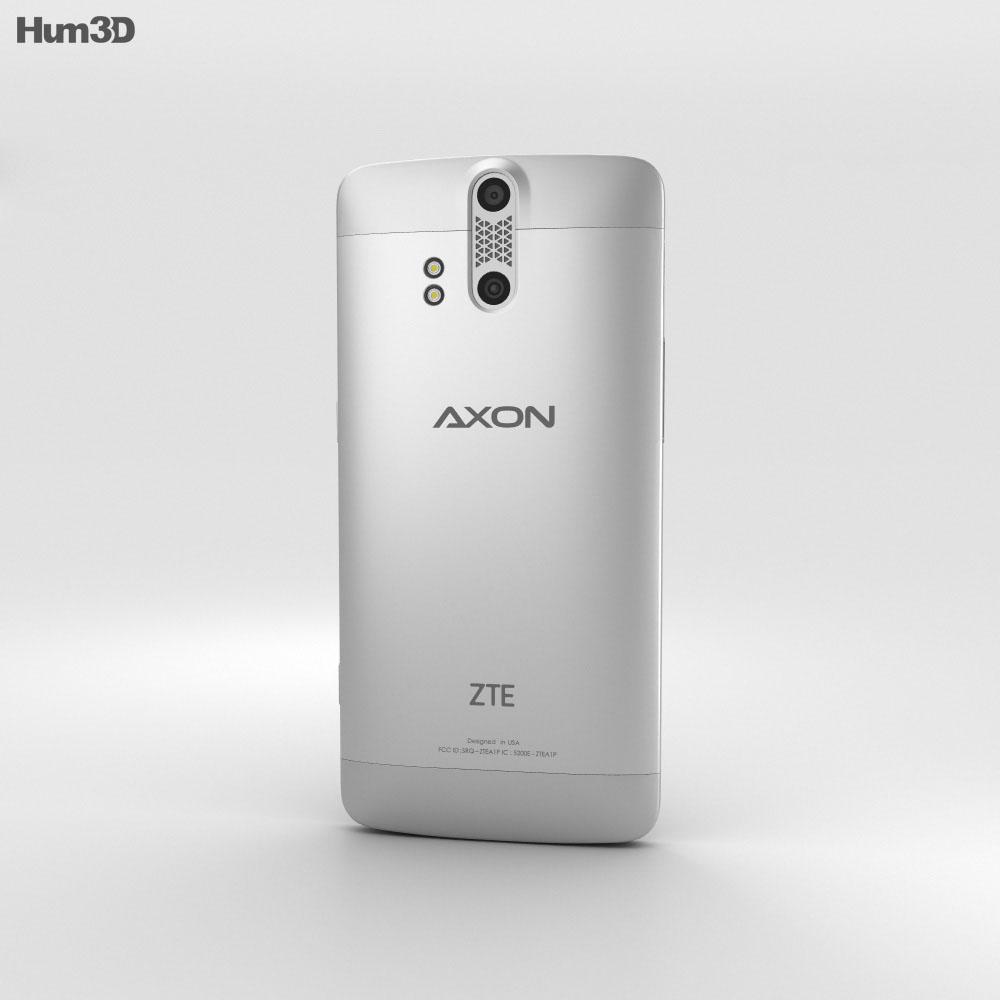 ZTE Axon Pro Chromium Silver 3d model