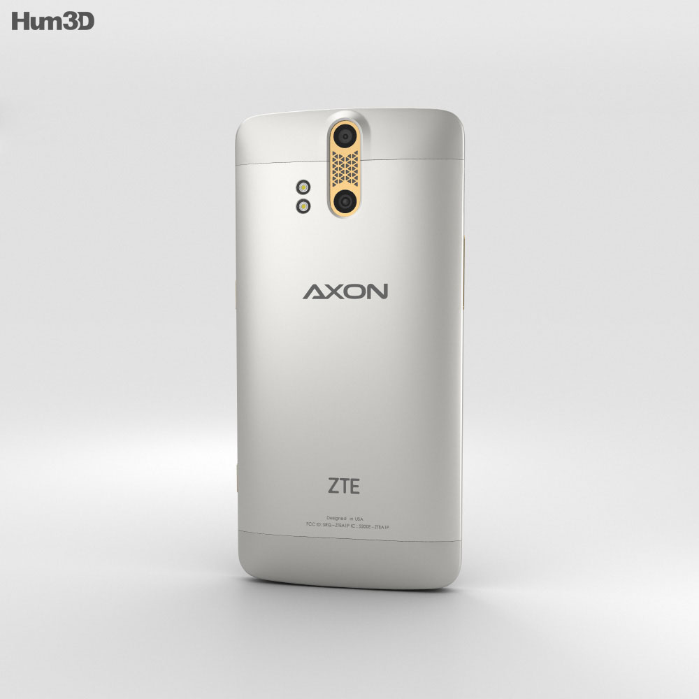 ZTE Axon Pro Ion Gold 3d model