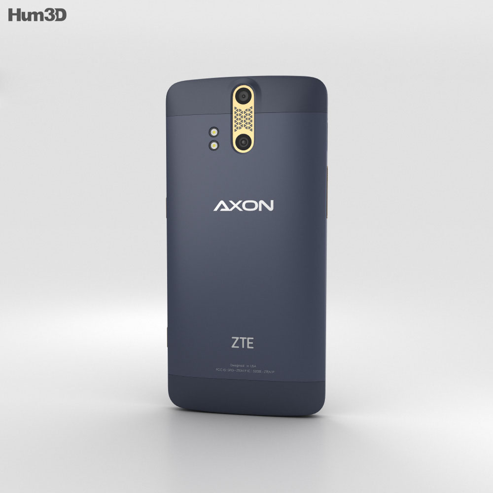 ZTE Axon Pro Phthalo Blue 3d model