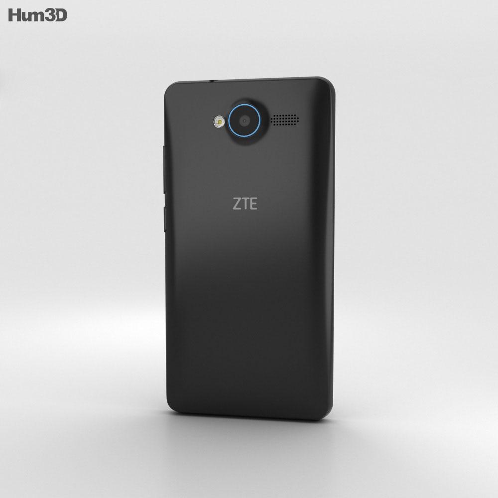 ZTE Blade L3 Black 3d model