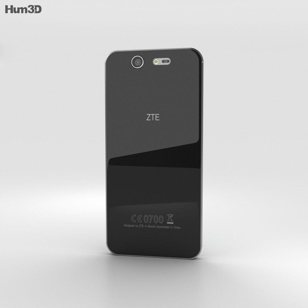 ZTE Blade S7 Space Gray 3d model