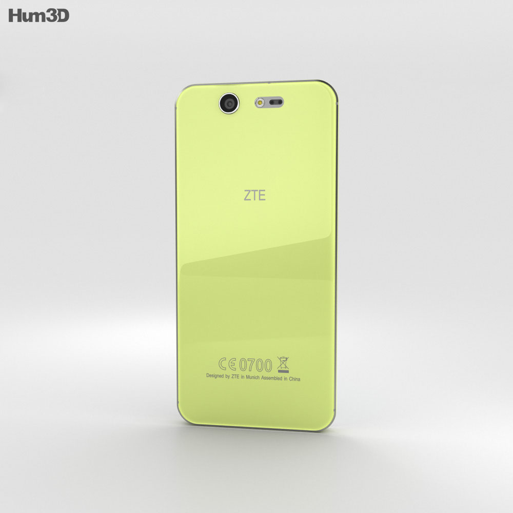ZTE Blade S7 Lemon Green 3d model