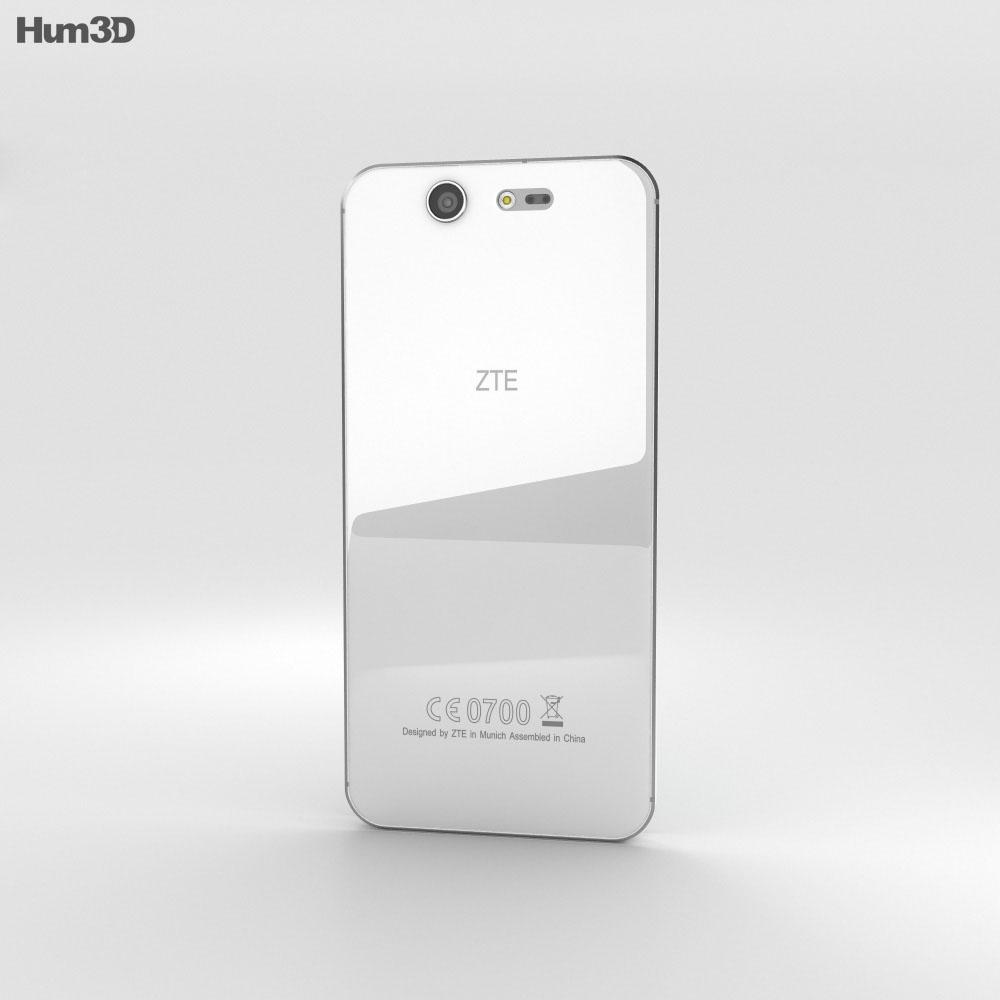 ZTE Blade S7 Diamond White 3d model