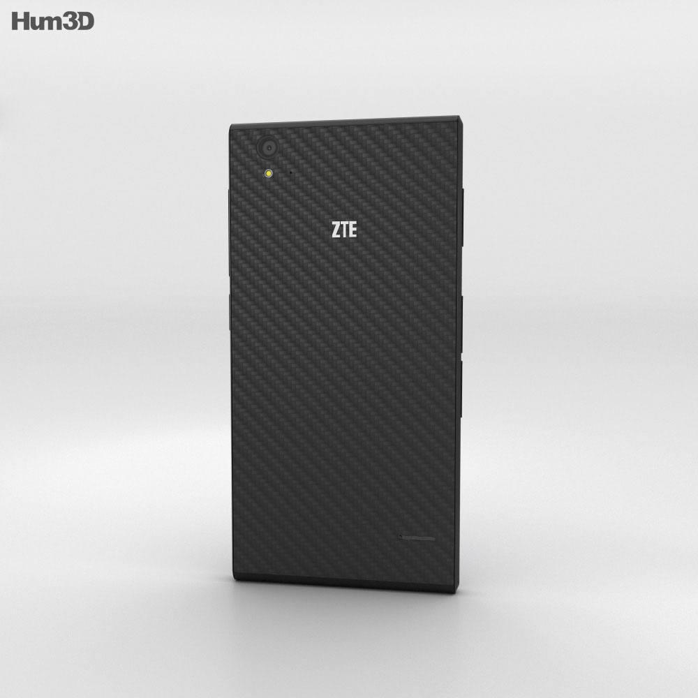 ZTE Blade Vec 3G Black 3d model