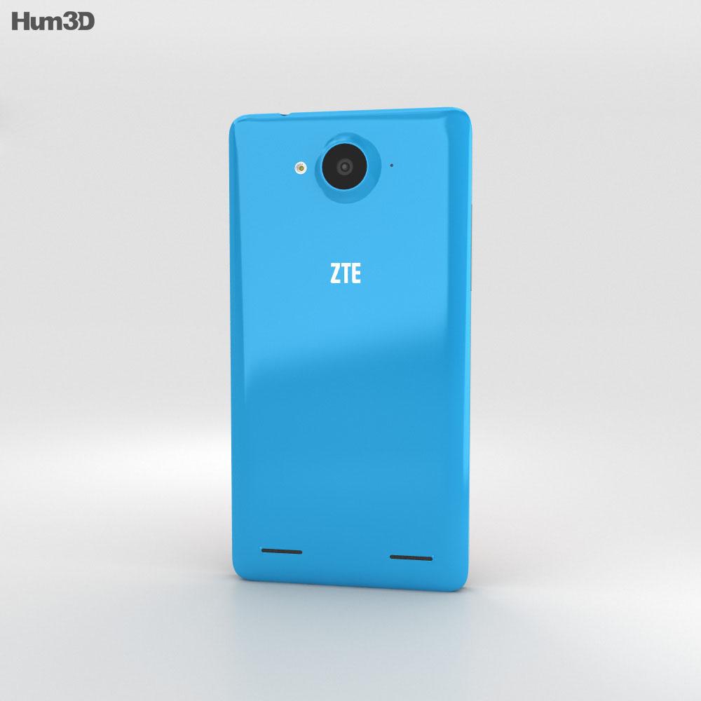 ZTE Redbull V5 Blue 3d model