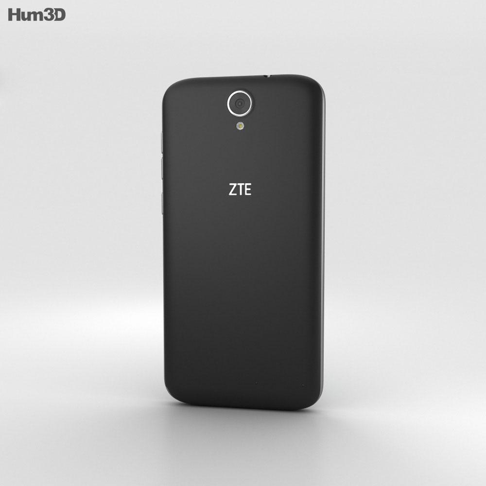 ZTE Warp 7 3d model
