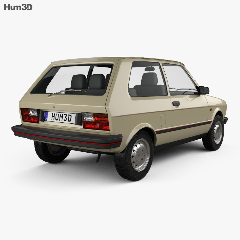 Zastava Yugo 45 1980 3d model