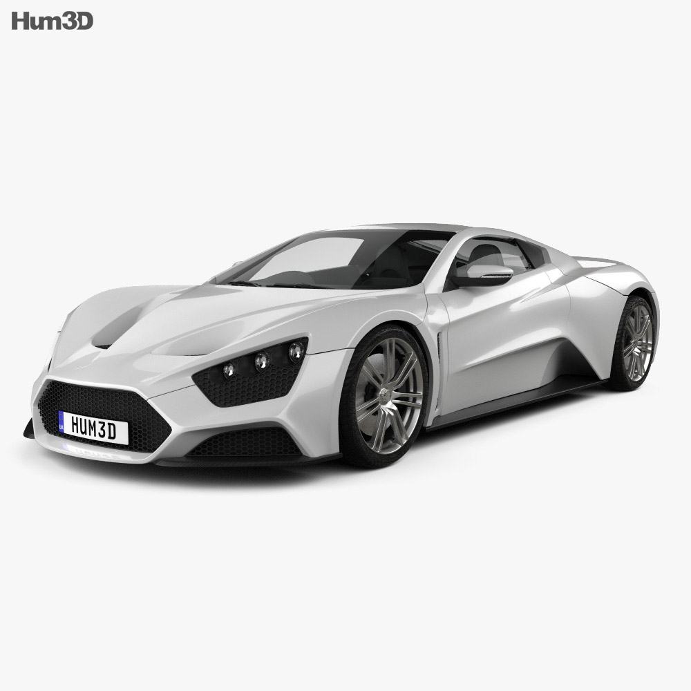 Zenvo ST1 2010 3d model
