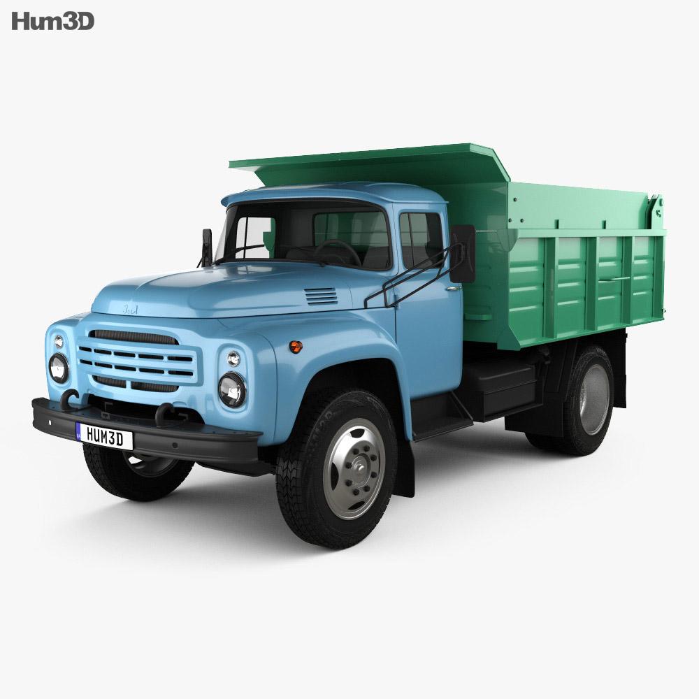 ZIL 130 Dump Truck 1964 3d model