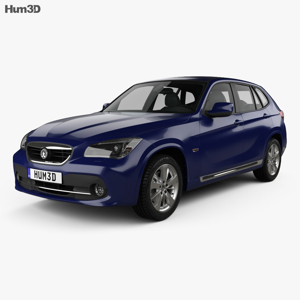 Zinoro 1E 2014 3d model