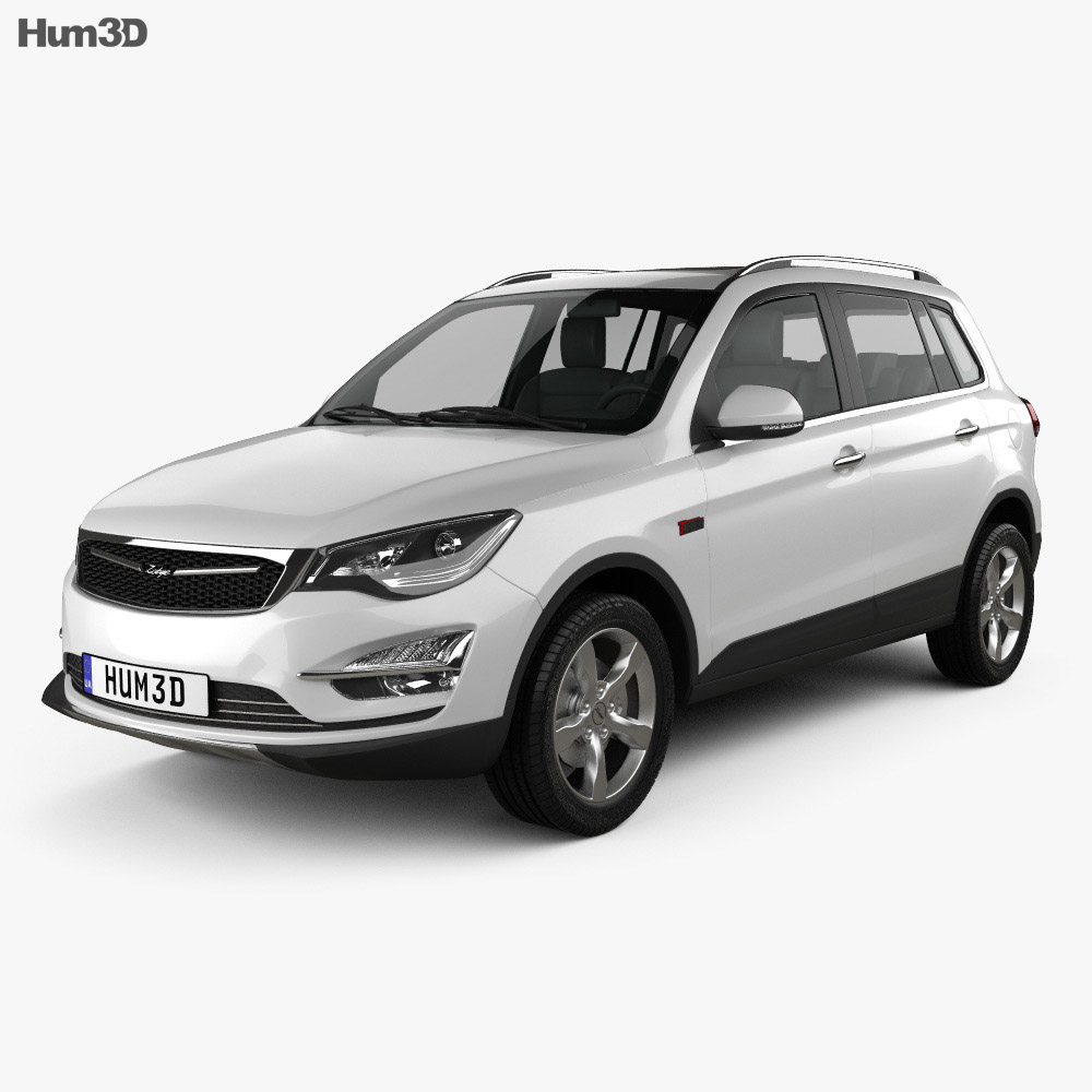 Zotye Damai X5 2015 3d model