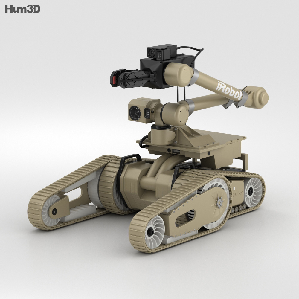 3D model of iRobot 710 Kobra