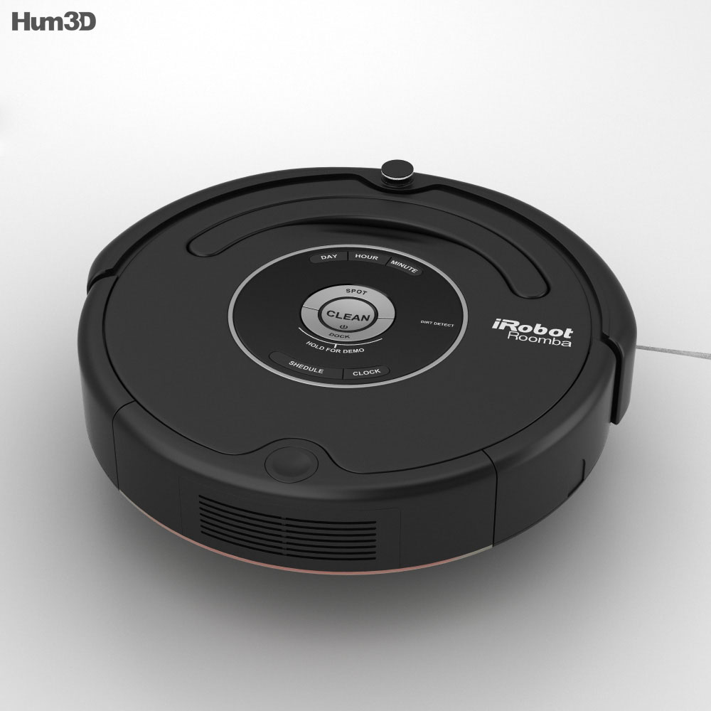 iRobot Roomba 581 3D model - Hum3D